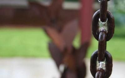 Jane McCorkell Rain Garden 2010 chain