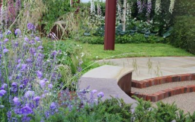 Jane McCorkell Rain Garden 2010 view 1