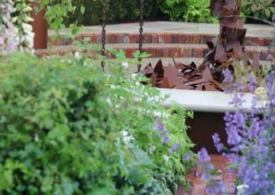 Jane McCorkell Rain Garden 2010 view 2