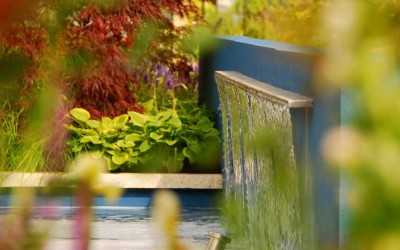 Think Blue - Bloom 2011 - water feature