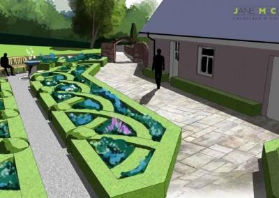 Kildare Garden perspective view