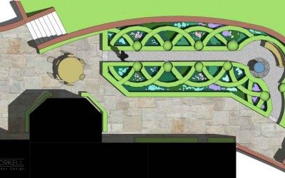 Kildare Garden plan
