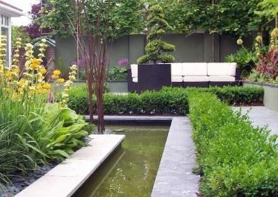 Private garden in Castleknock