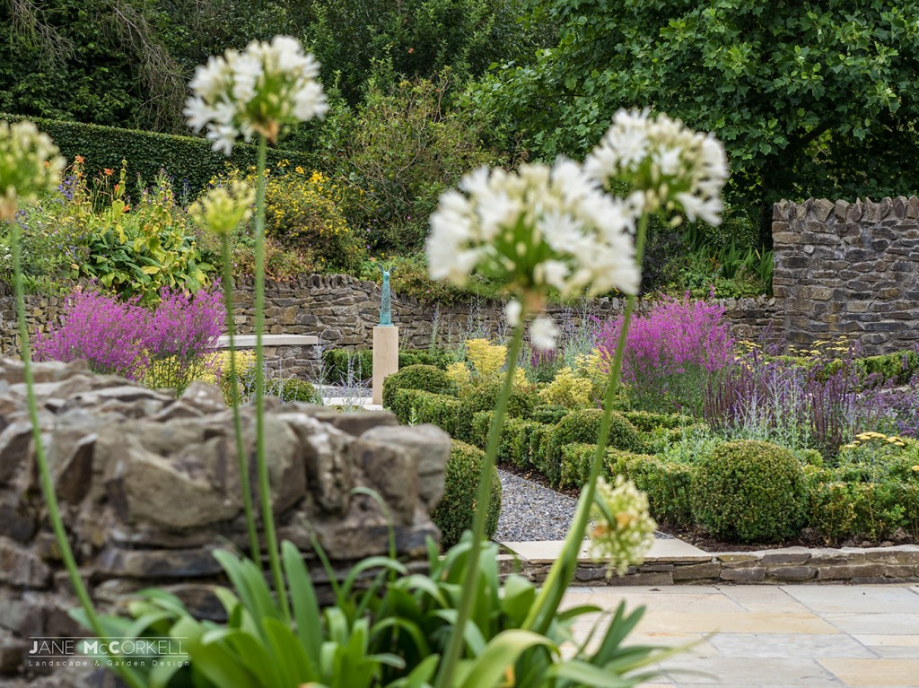 Jane mccorkell awards winning landscape and garden designer for Garden design kildare